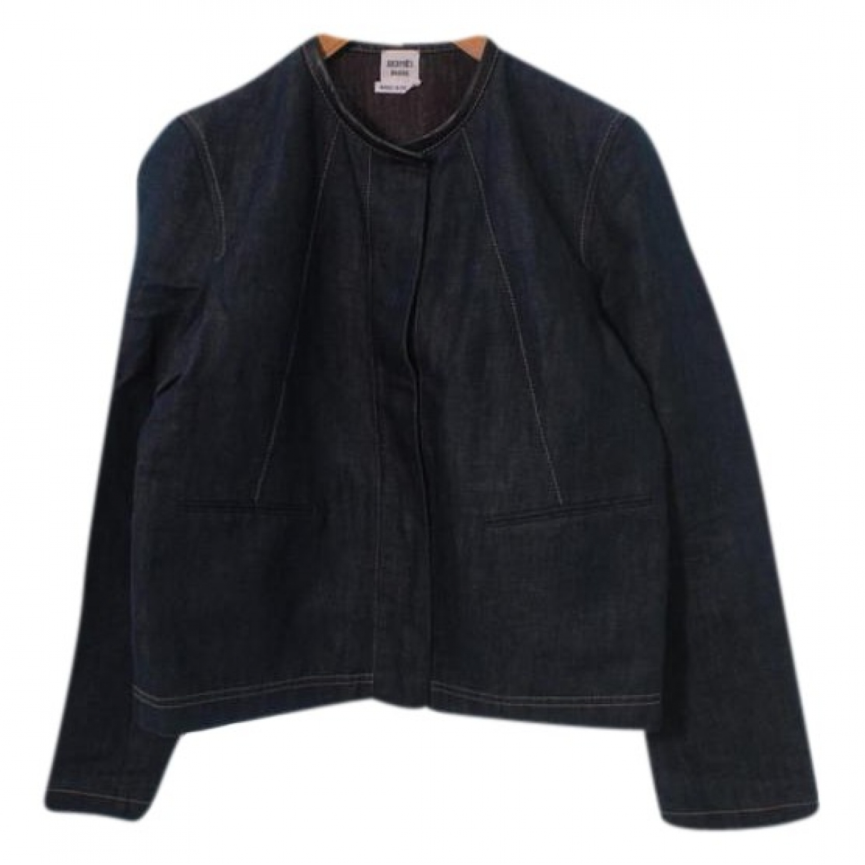 Hermès \N Blue Cotton jacket for Women 36 FR