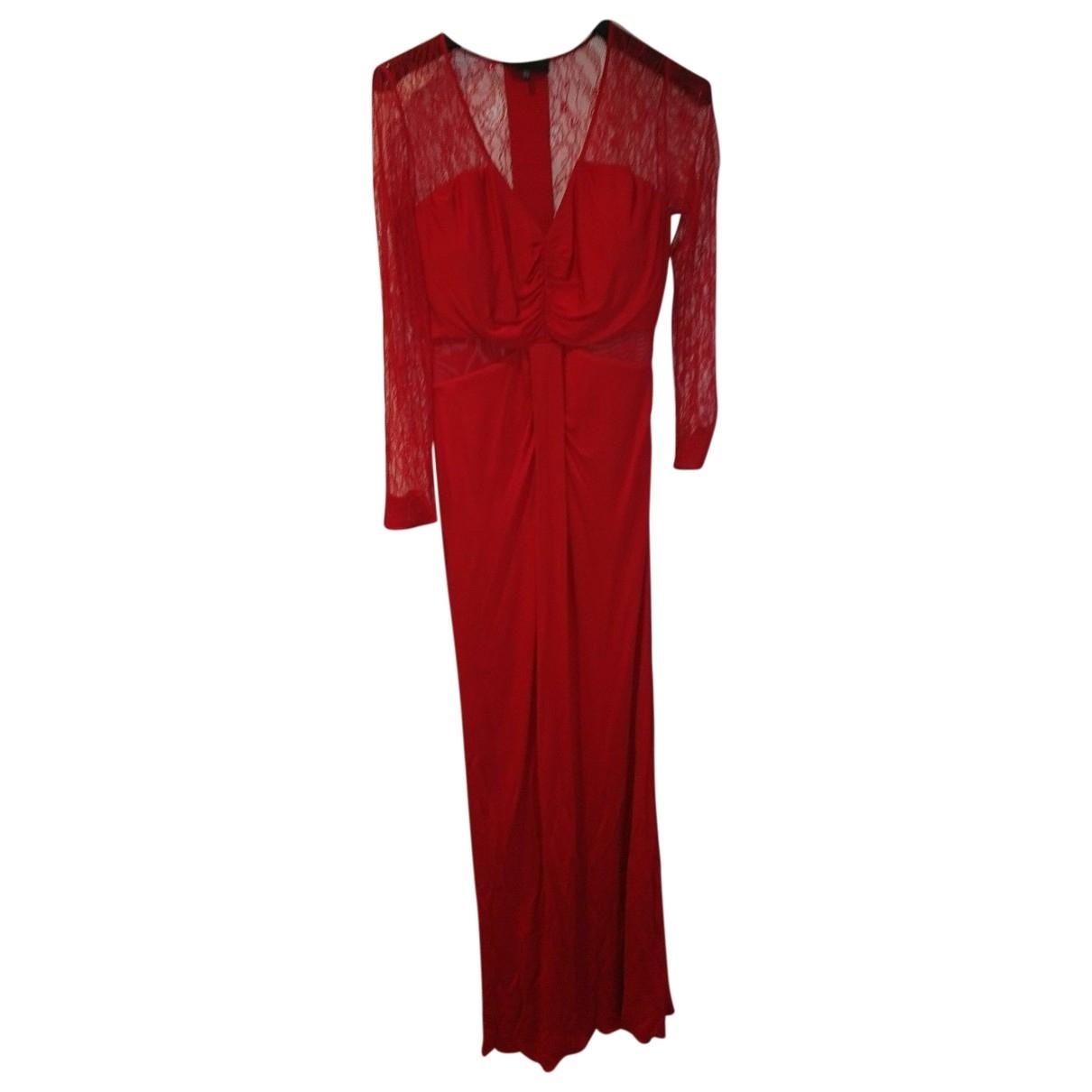 Bastyan \N Kleid in  Rot Viskose