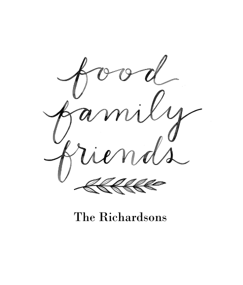 Non Photo Framed Canvas Print, Chocolate, 8x10, Home Décor -Food Family Friends