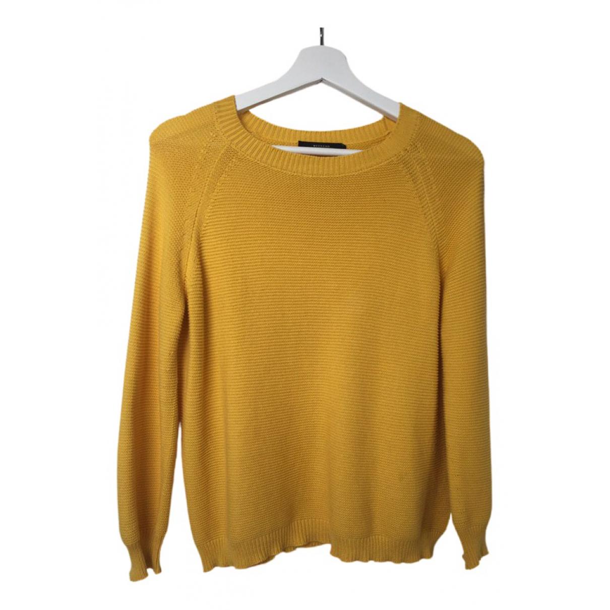 Max Mara Weekend \N Yellow Cotton Knitwear for Women 34 FR