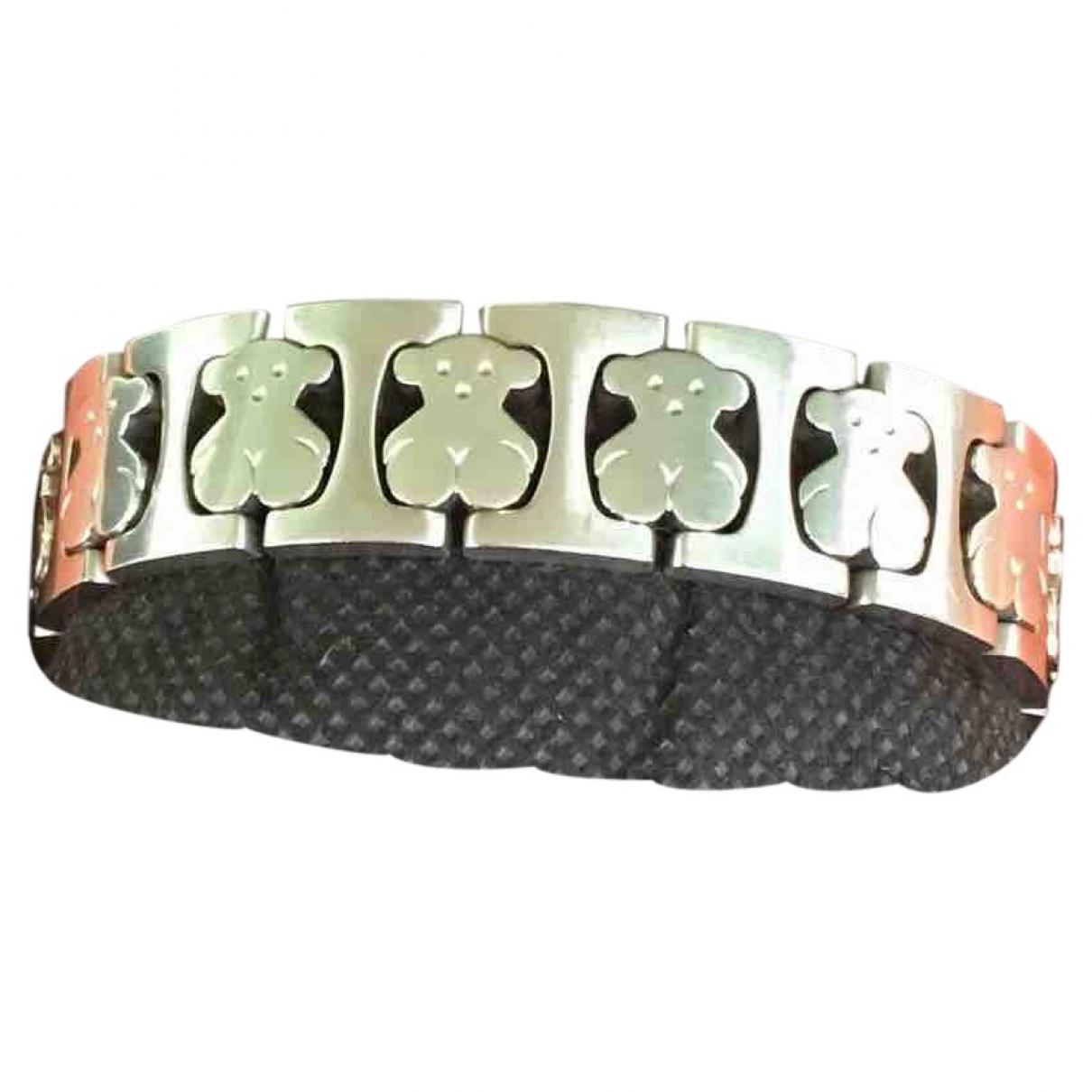 Atelier Tous - Bracelet   pour femme en acier - argente