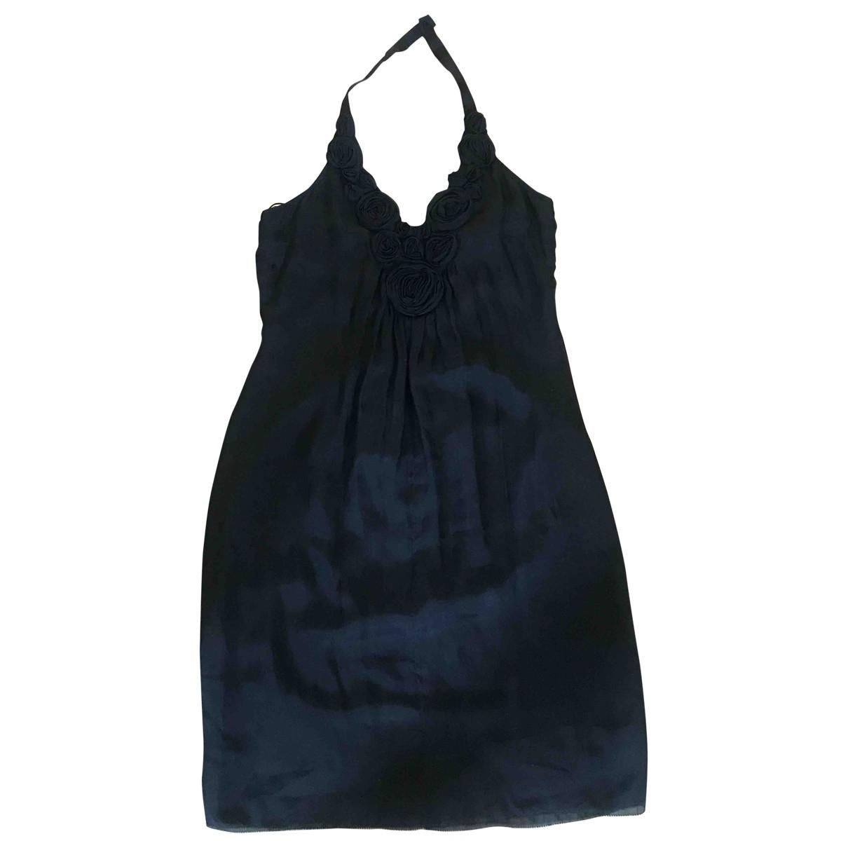 Catherine Malandrino \N Black Silk dress for Women 8 US