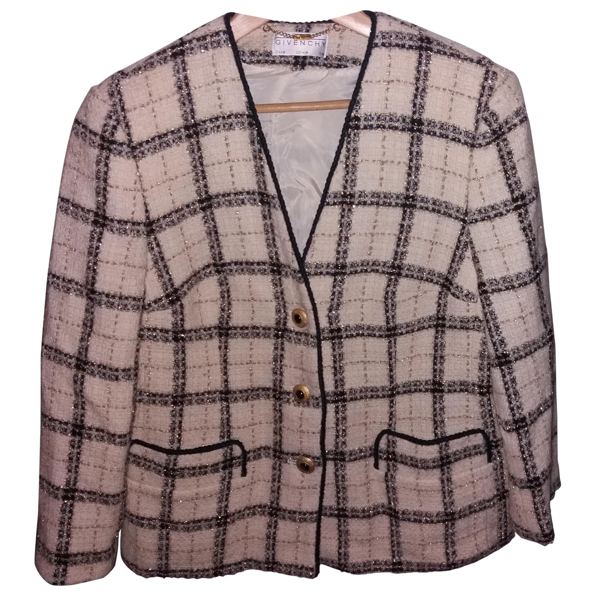 Givenchy \N Beige Wool jacket for Women 14-16 US