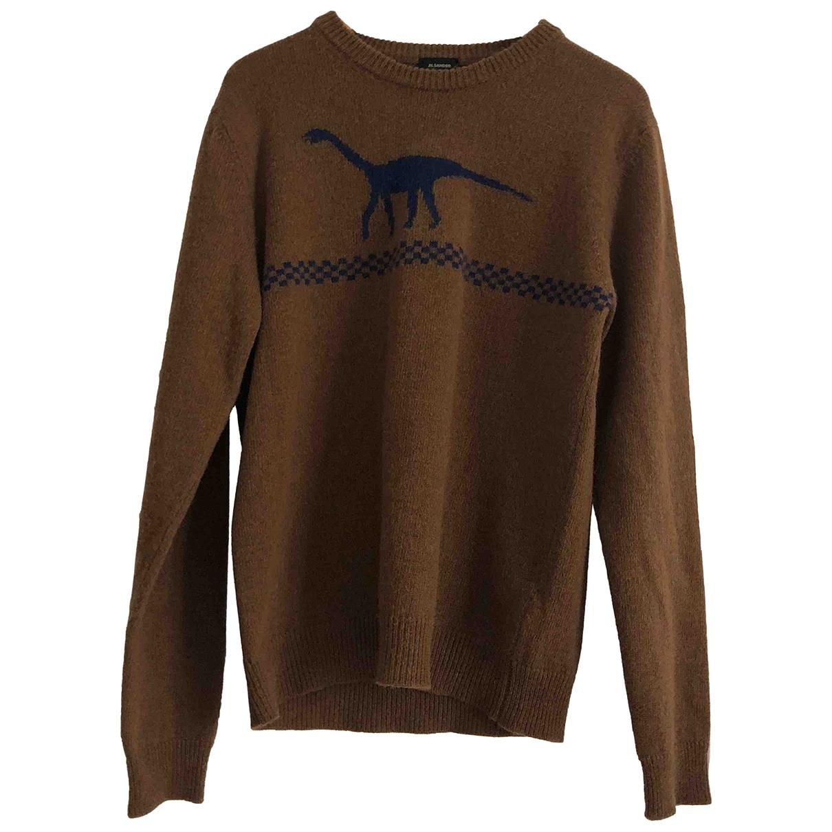 Jil Sander - Pulls.Gilets.Sweats   pour homme en laine - marron
