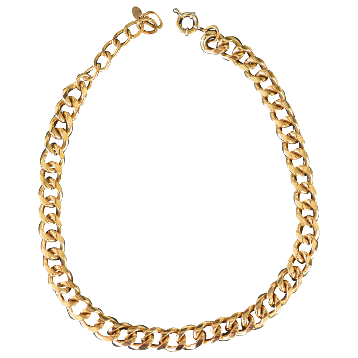 Non Signe / Unsigned Chaines Kette in  Gold Metall