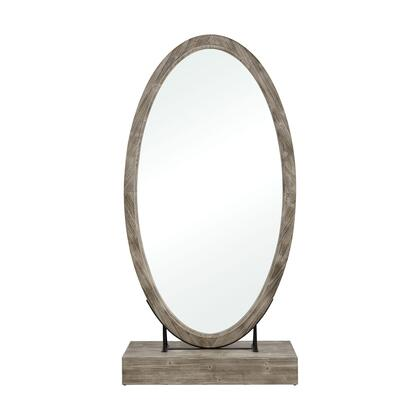 3128-1063 Sweetwater Floor Mirror  In Salvaged Grey