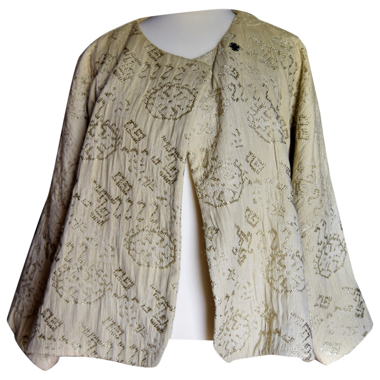 Masscob \N Ecru Cotton jacket for Women 38 FR