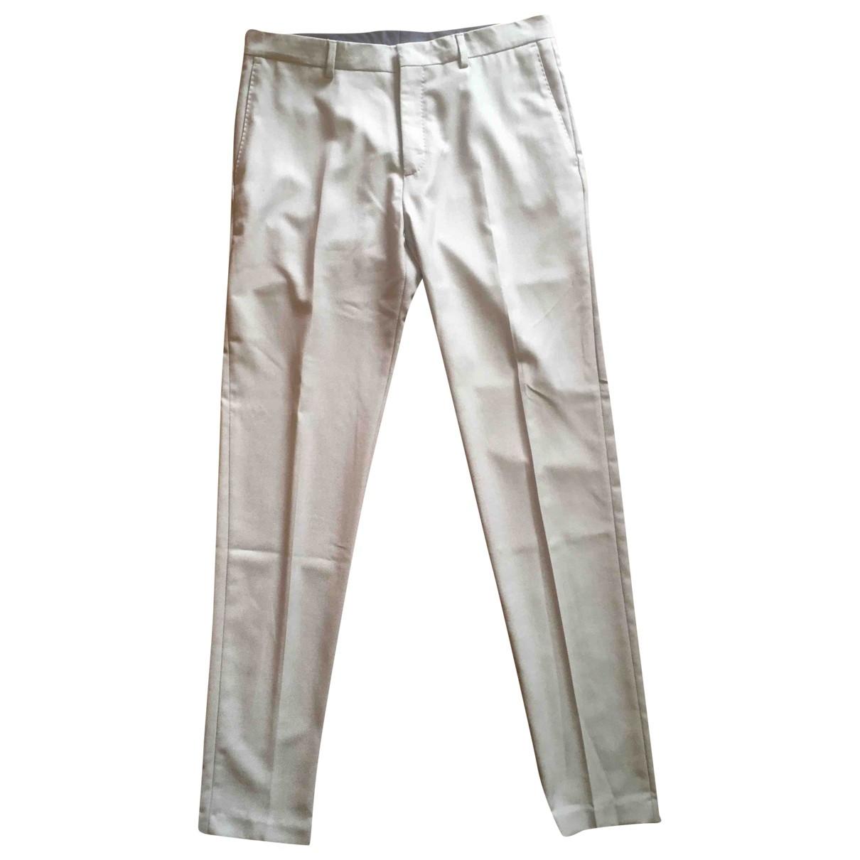 Zara \N Grey Trousers for Men 46 IT