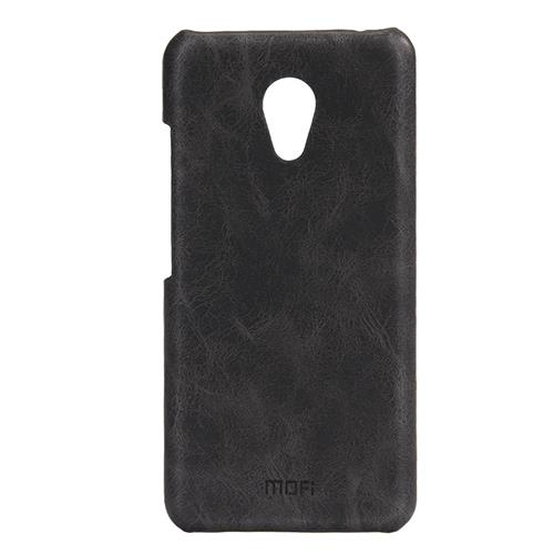 Black Meizu Meilan 3 Leather Case MOFI Heart Series Protective Cover Screen Protector