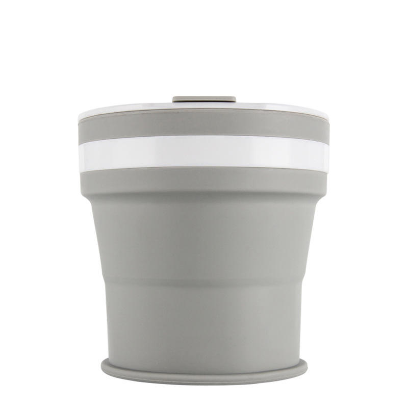 IPRee® 350ml Folding Silicone Water Bottle Portable Telescopic Drinking Tea Cup Coffee Mug Outdoor Travel