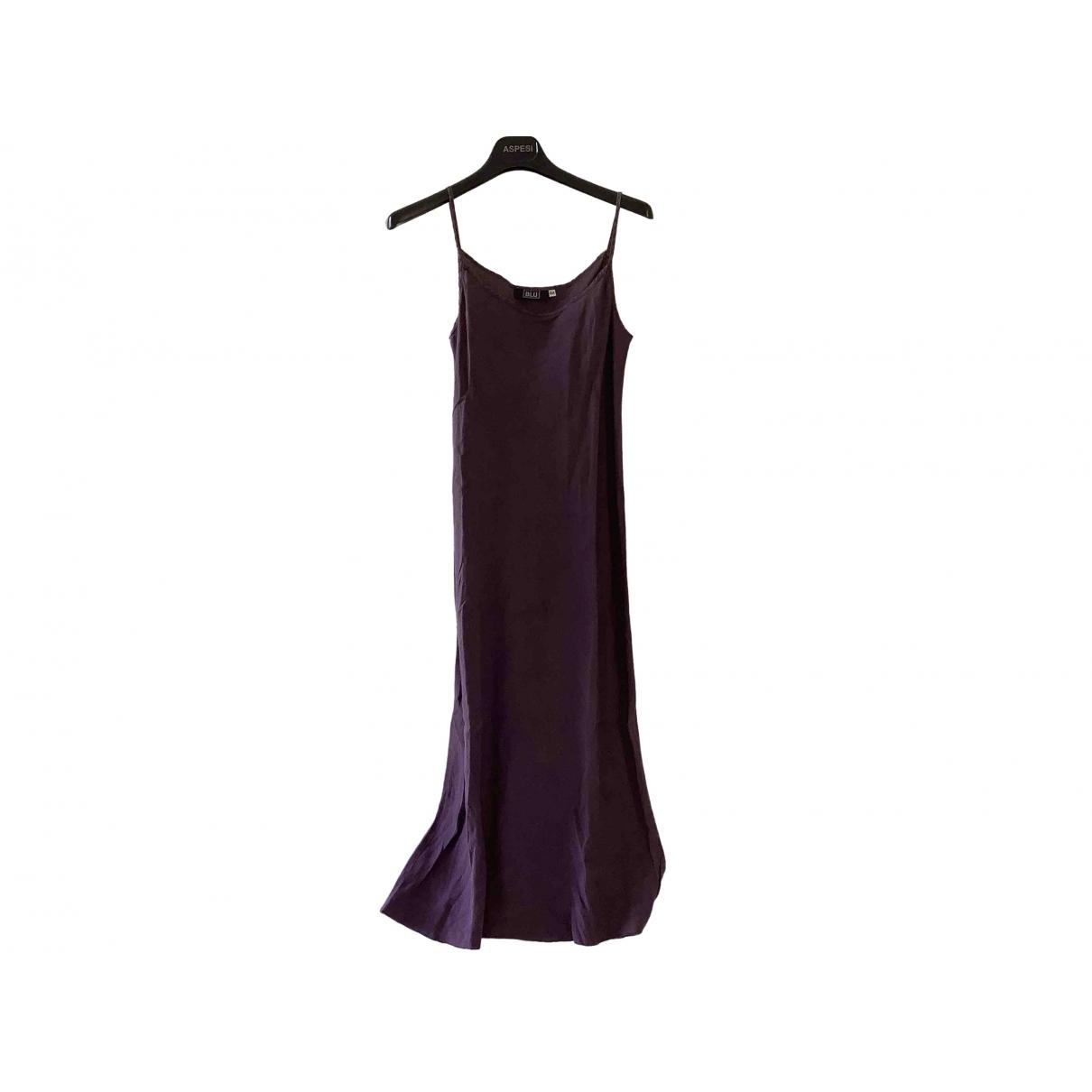 Aspesi \N Kleid in  Lila Leinen