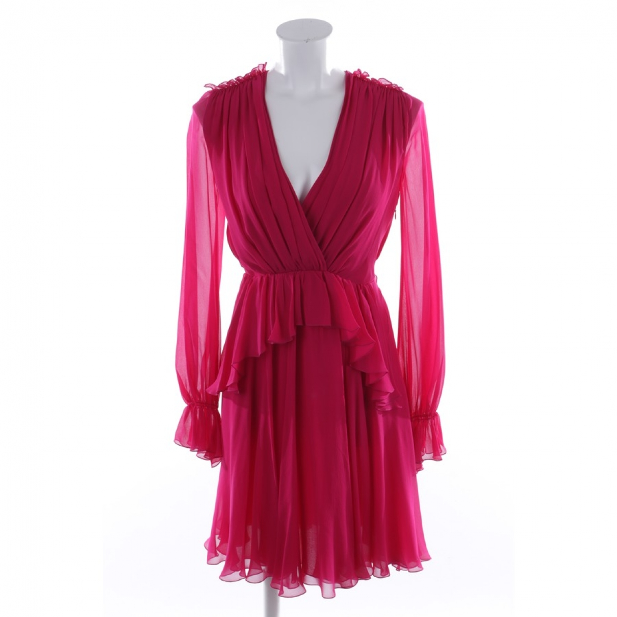 Giambattista Valli \N Red Silk dress for Women 34 FR