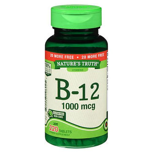 NatureS Truth B12 Tablets 220 Tabs by Natures Truth