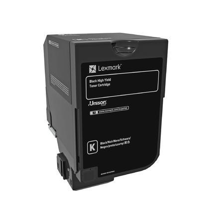 Lexmark 74C0H10 Original Black Toner Cartridge High Yield