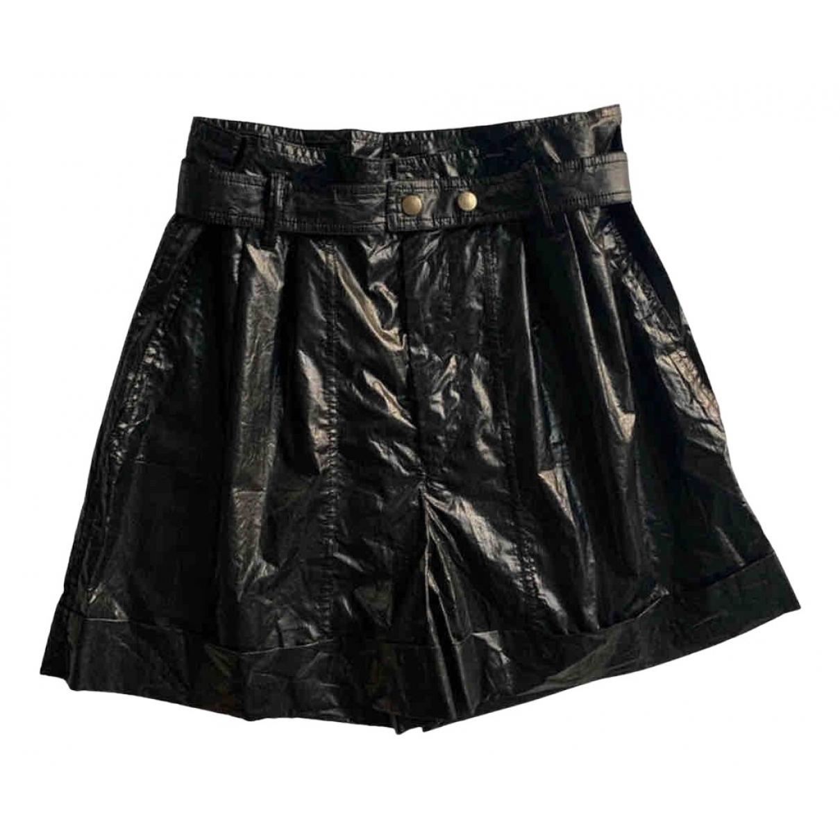 Isabel Marant \N Shorts in  Schwarz Baumwolle