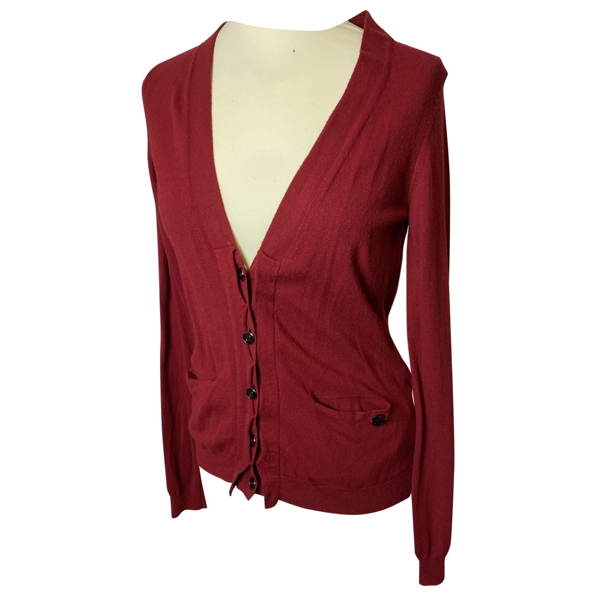 Armani Jeans \N Red Wool  top for Women M International