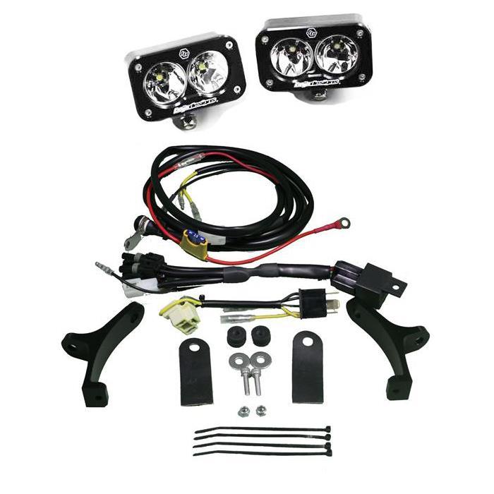 Baja Designs 497043 BMW 1200GS LED Light Kit 13-Up Squadron Pro