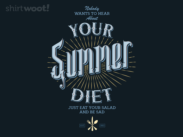 Summer Diet T Shirt
