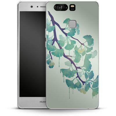 Huawei P9 Silikon Handyhuelle - Ginko Green von Little Clyde