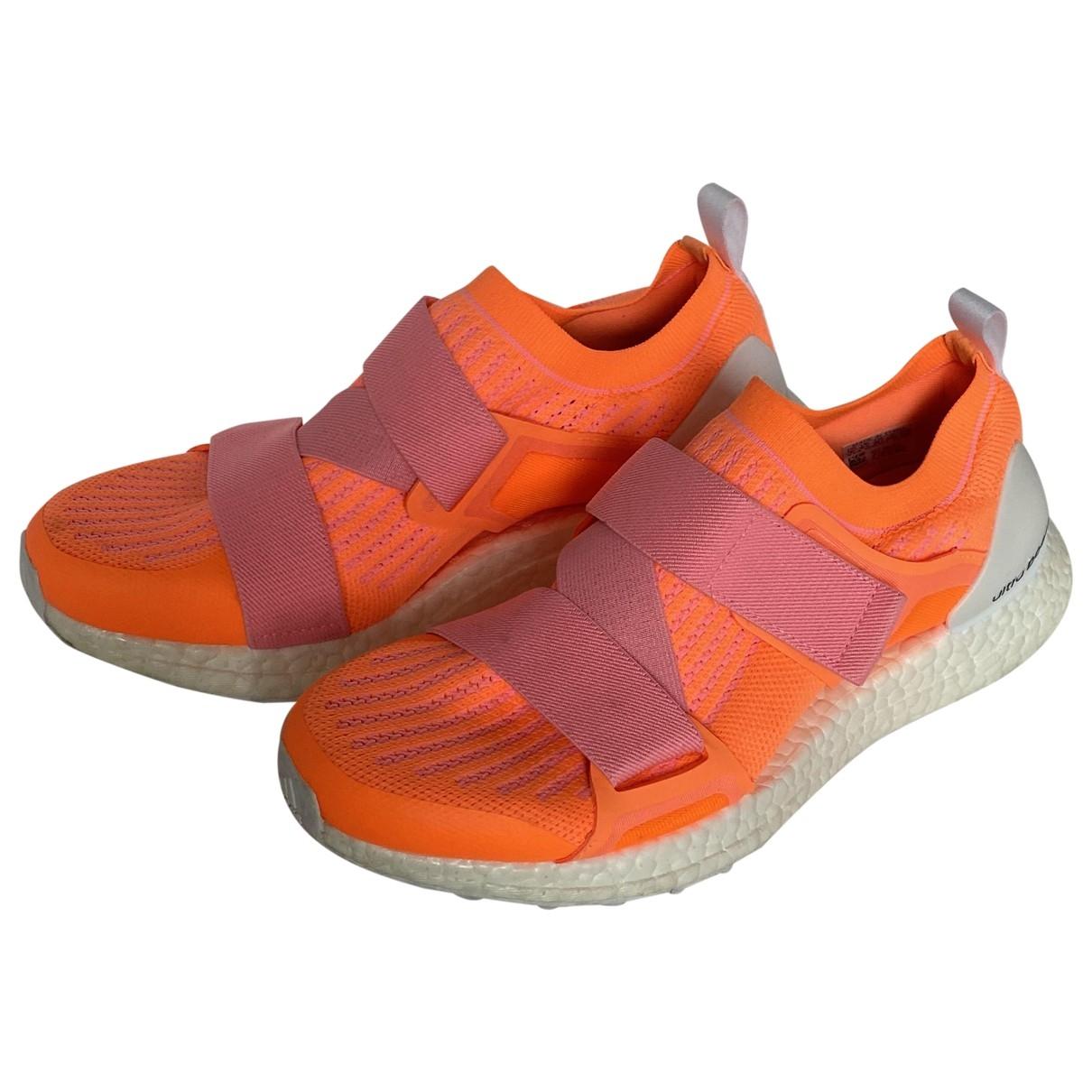 Stella Mccartney Pour Adidas - Baskets   pour femme en caoutchouc - orange