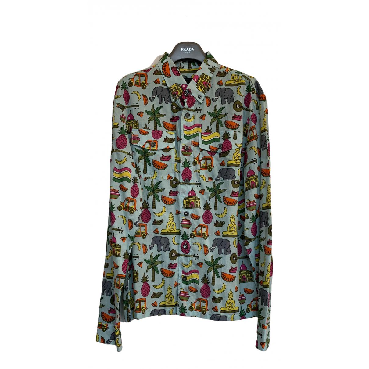 Prada - Chemises   pour homme en coton