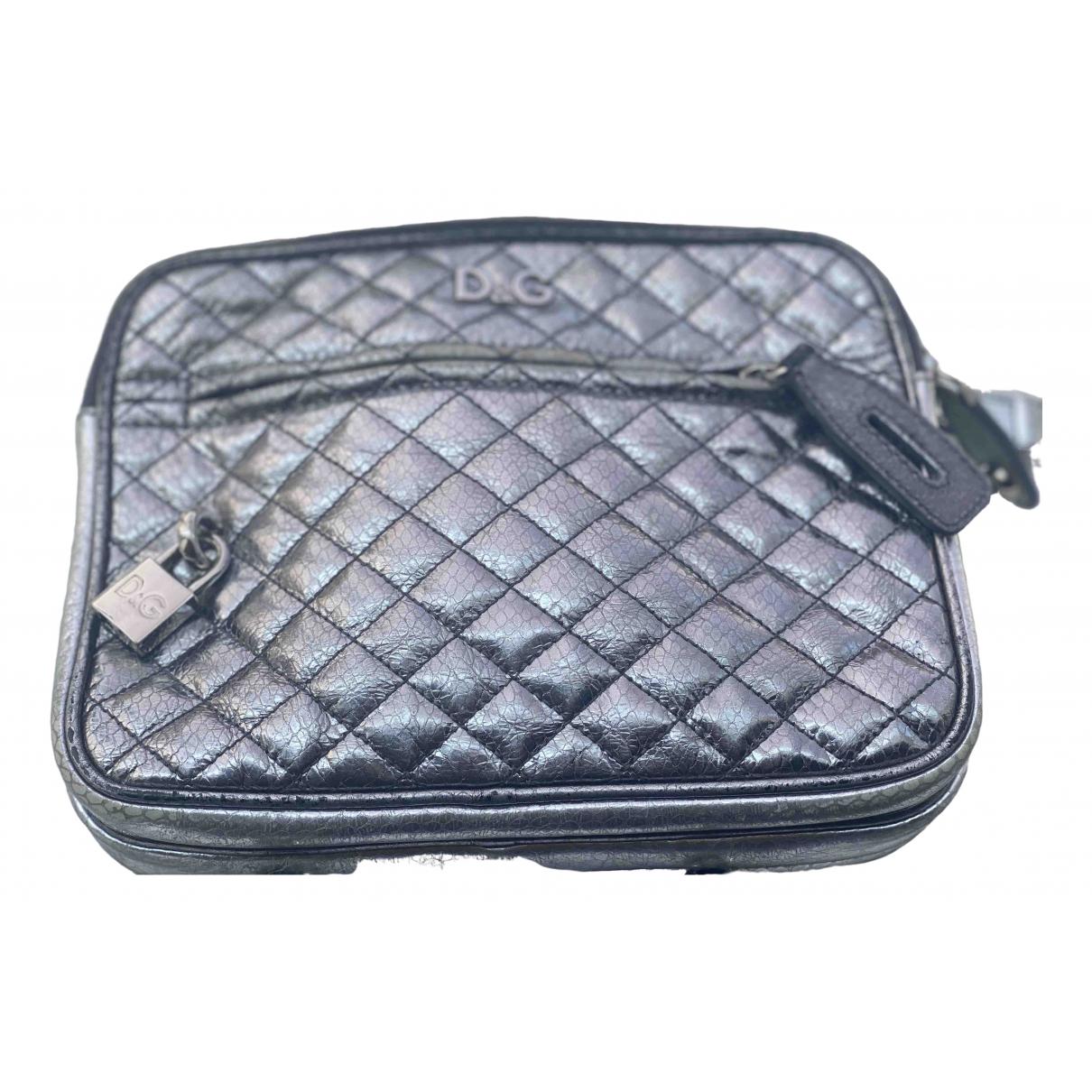 Dolce & Gabbana \N Silver Leather handbag for Women \N