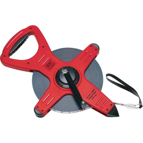 CST Berger 300 Ft. One Sided Pro-Series Zip-Line™ Nylon-Clad Steel Measuring Tape