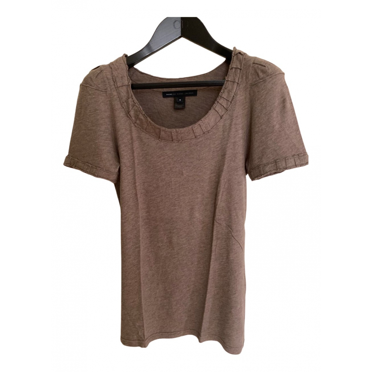 Marc By Marc Jacobs N Grey Cotton  top for Women 38 FR