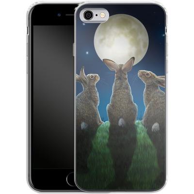Apple iPhone 6 Silikon Handyhuelle - Moonshadows von Lisa Parker