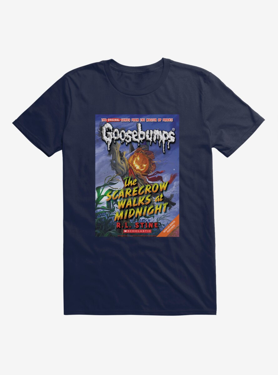 Goosebumps The Scarecrow Walks At Midnight Book T-Shirt