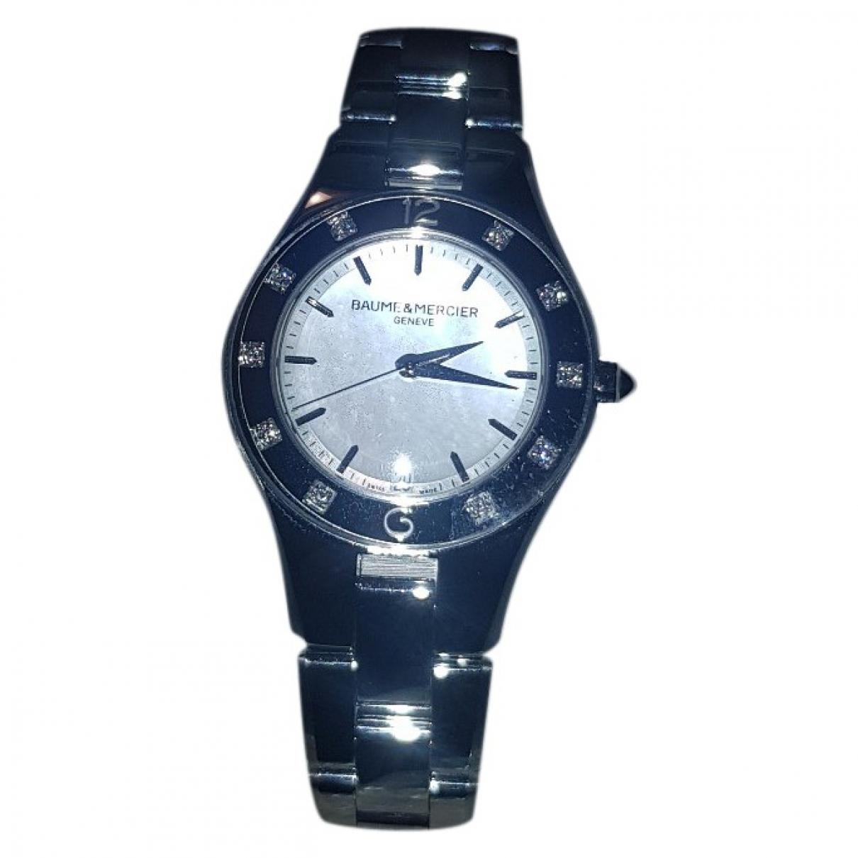 Baume Et Mercier Linéa Silver Steel watch for Women \N