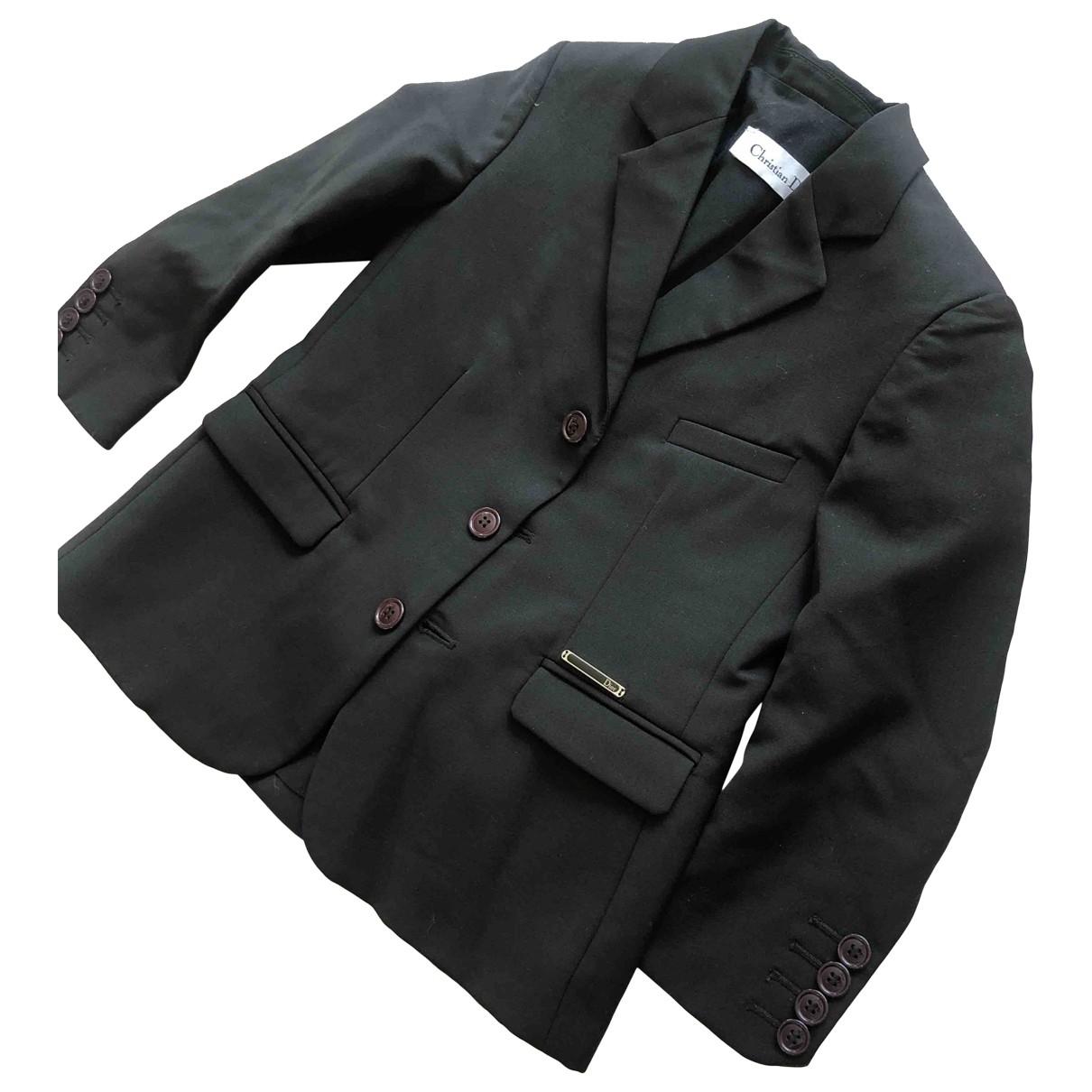 Dior - Blousons.Manteaux   pour enfant en laine - noir
