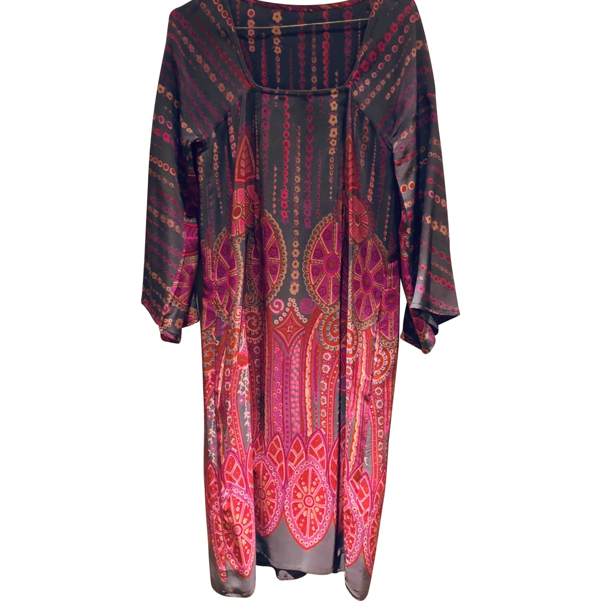 Stella Forest \N Multicolour Silk dress for Women 36 FR