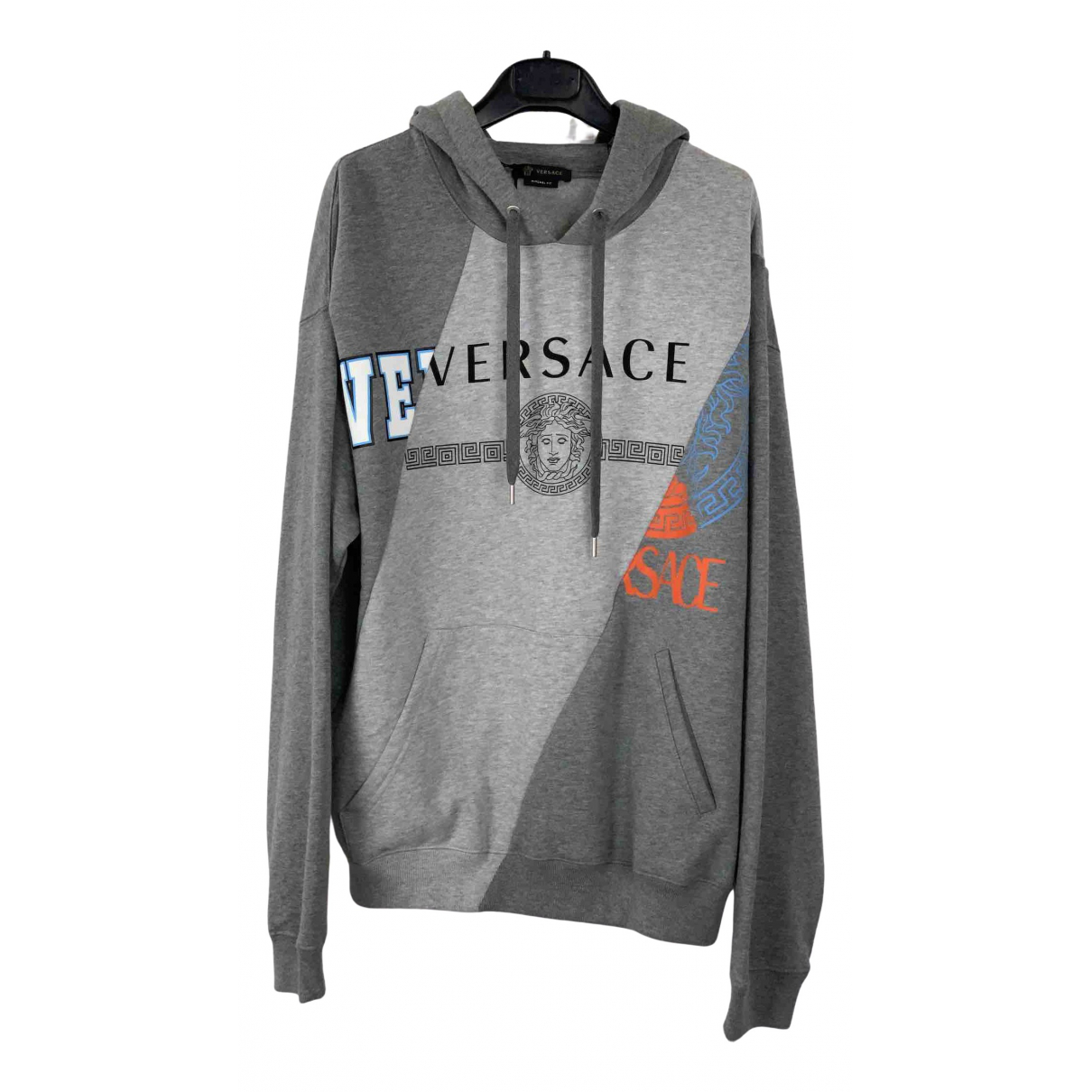 Versace \N Grey Cotton Knitwear & Sweatshirts for Men L International