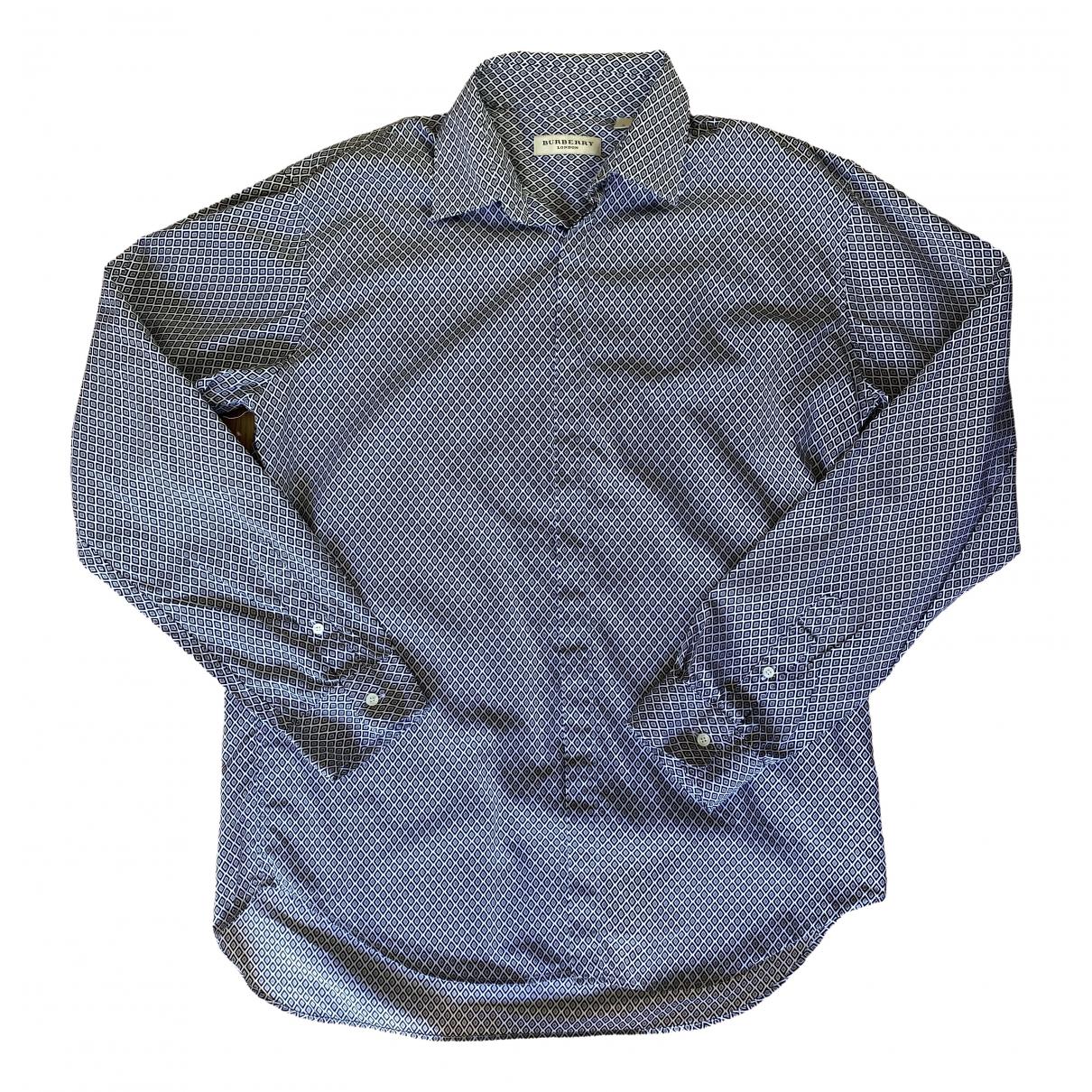 Burberry \N Multicolour Cotton Shirts for Men L International