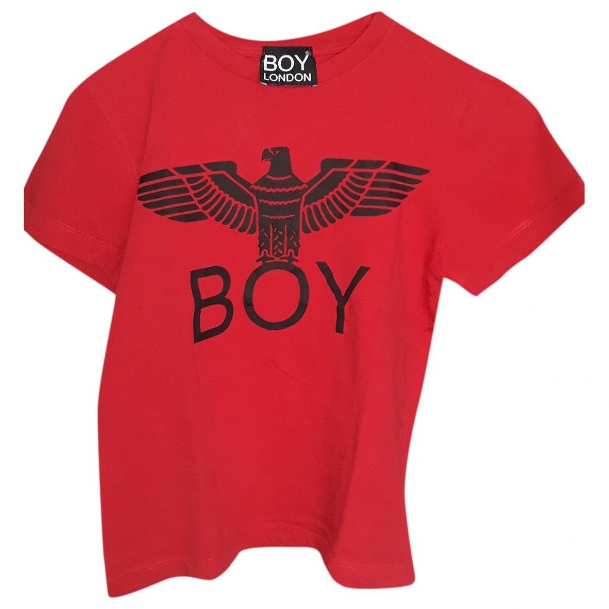 Boy London - Top   pour enfant en coton - rouge