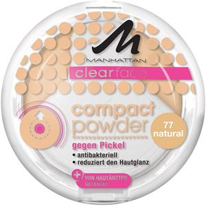 Manhattan Rostro Clearface Compact Powder N.º 76 1 Stk.