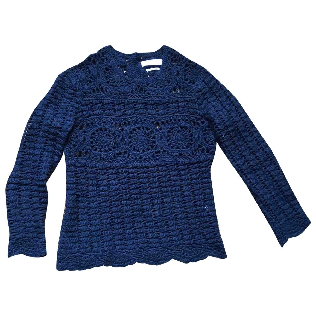 Isabel Marant Etoile \N Navy Cotton Knitwear for Women 34 FR