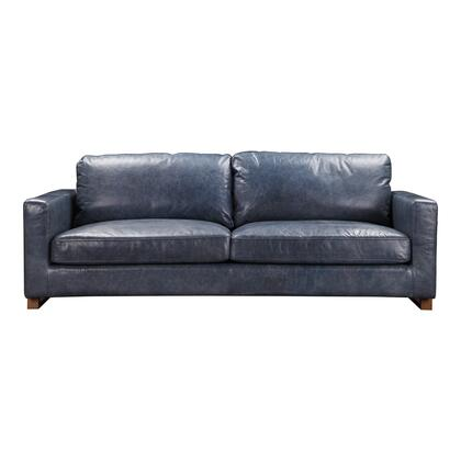 Nikoly Collection QN-1017-46 Sofa with Iron Base in Blue