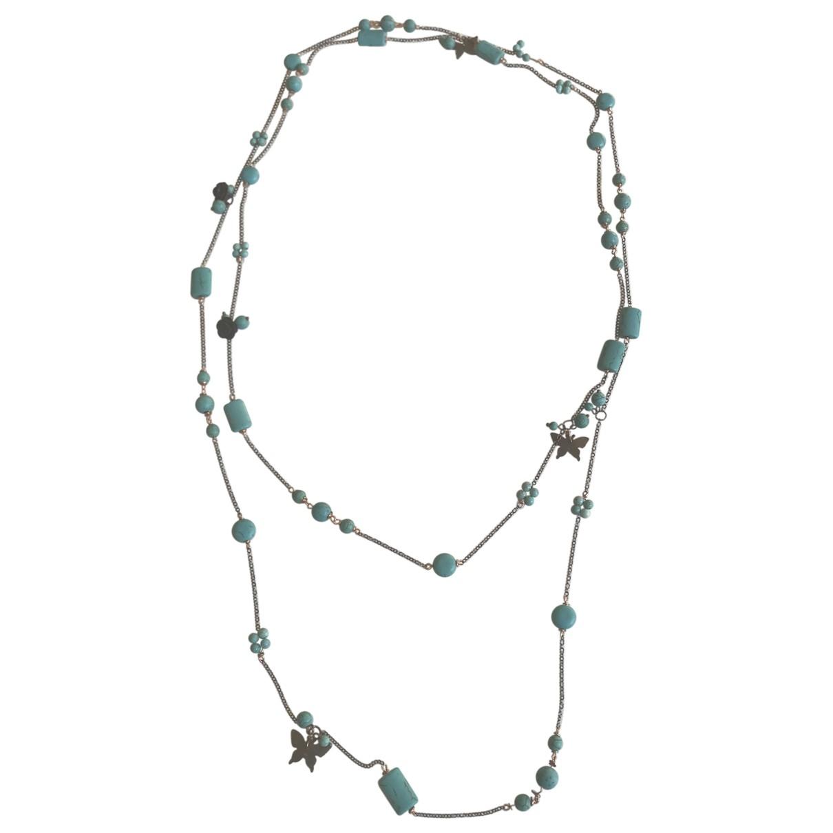 Collar largo Turquoises Non Signe / Unsigned