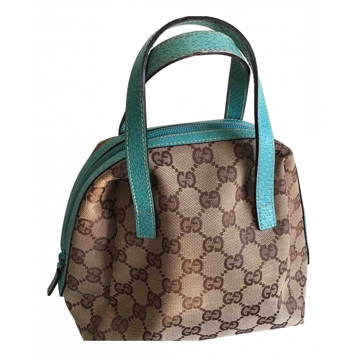 Gucci N Beige Cloth handbag for Women N