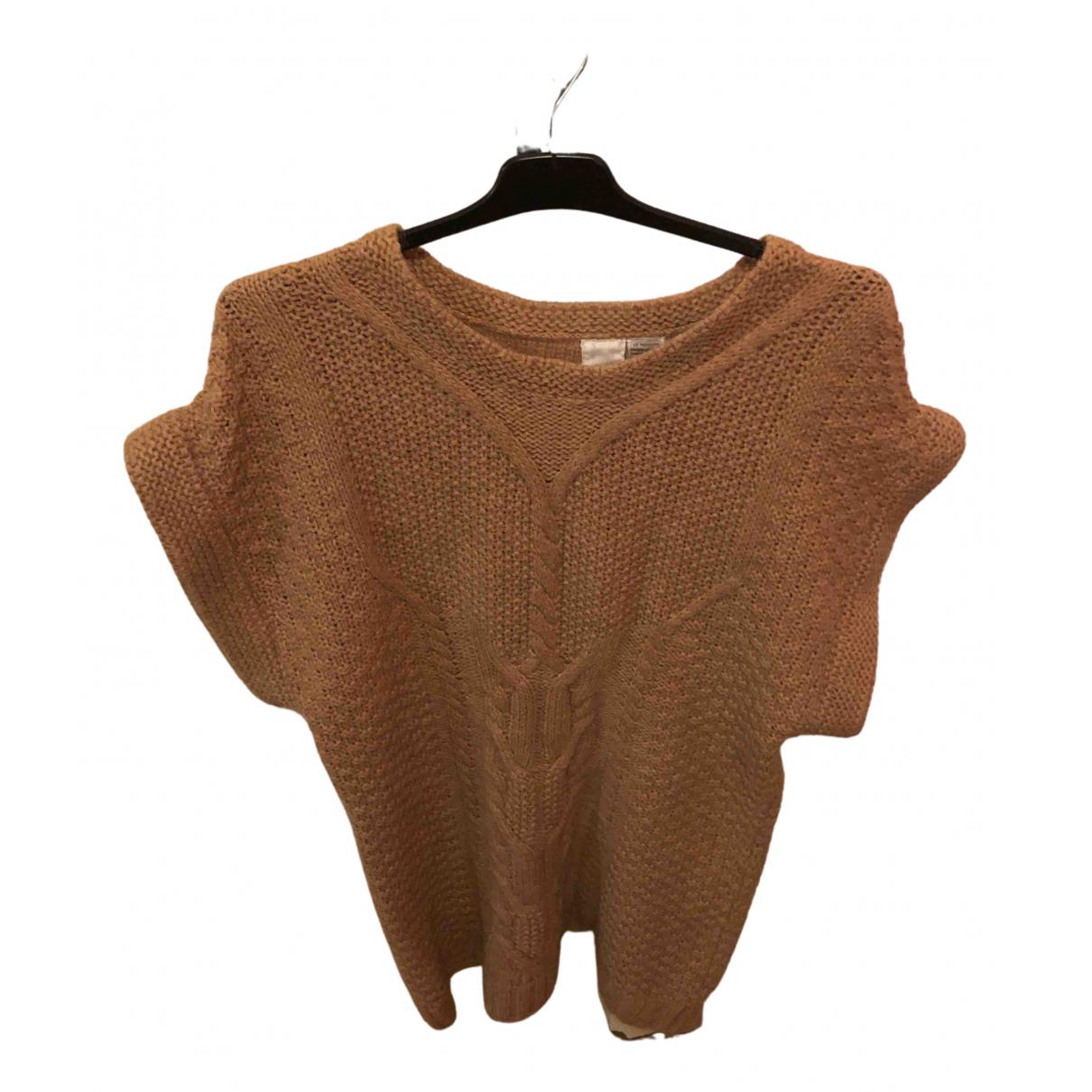 Vanessa Bruno Athe \N Kleid in  Braun Wolle