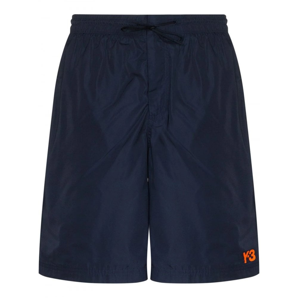Y-3 Swim Shorts Colour: NAVY, Size: SMALL
