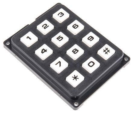 EOZ IP40 12 Key PC Keypad