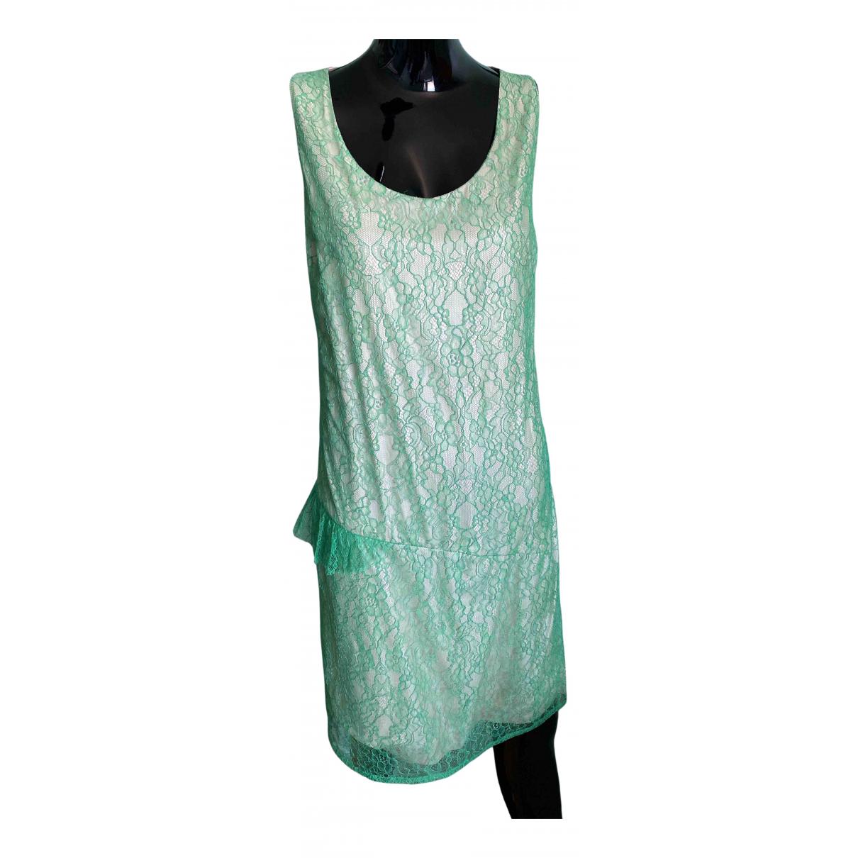 Veronique Branquinho \N Kleid in  Gruen Polyester