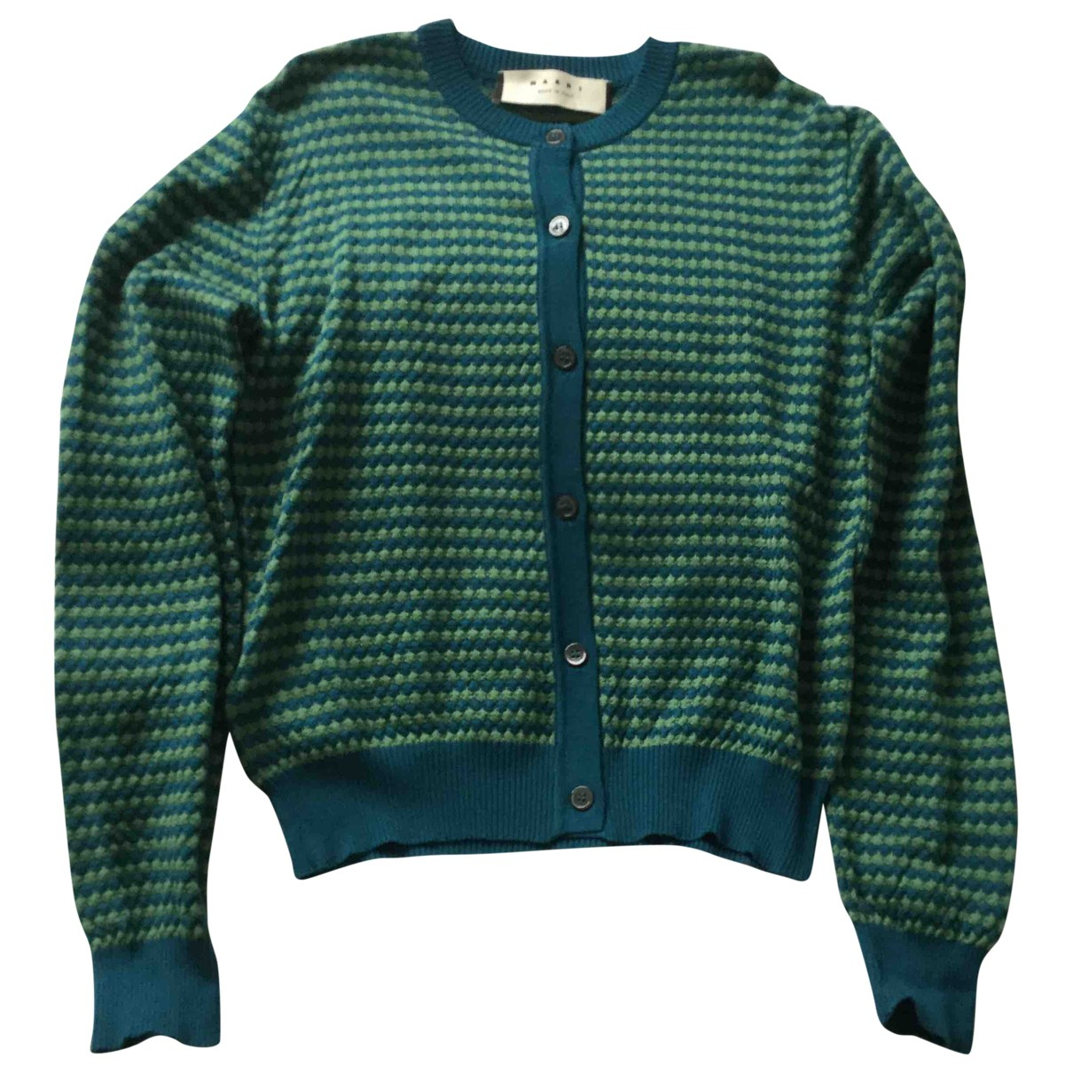 Marni \N Green Cotton Knitwear for Women 46 IT
