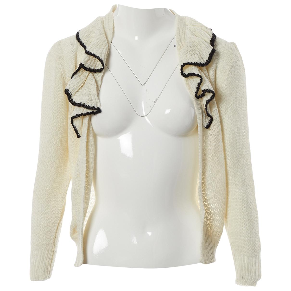 Rodarte - Pull   pour femme en laine - ecru