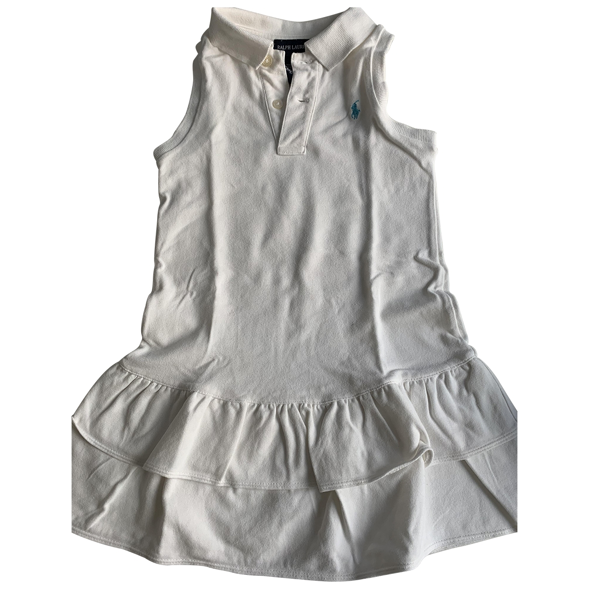Polo Ralph Lauren \N White Cotton dress for Kids 4 years - up to 102cm FR