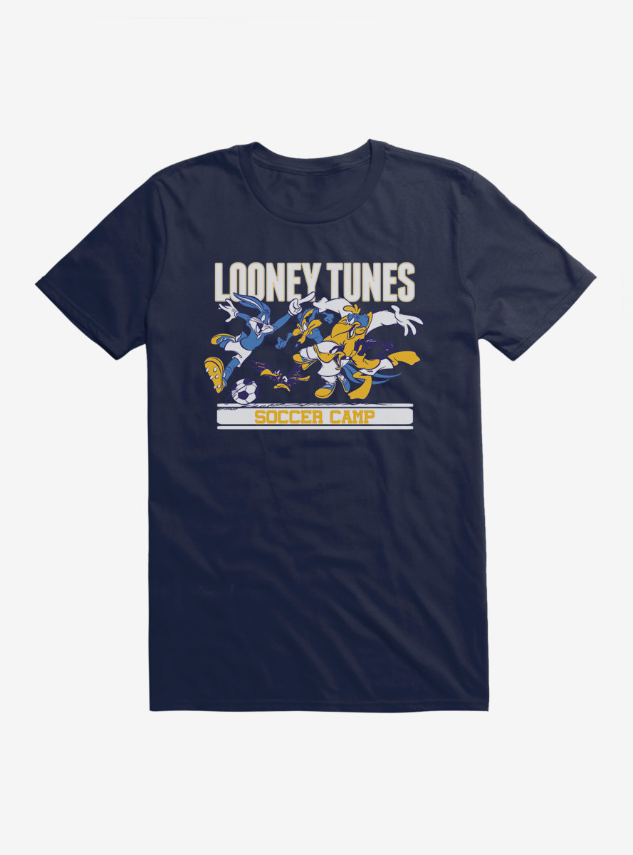 Looney Tunes Soccer Camp Game T-Shirt