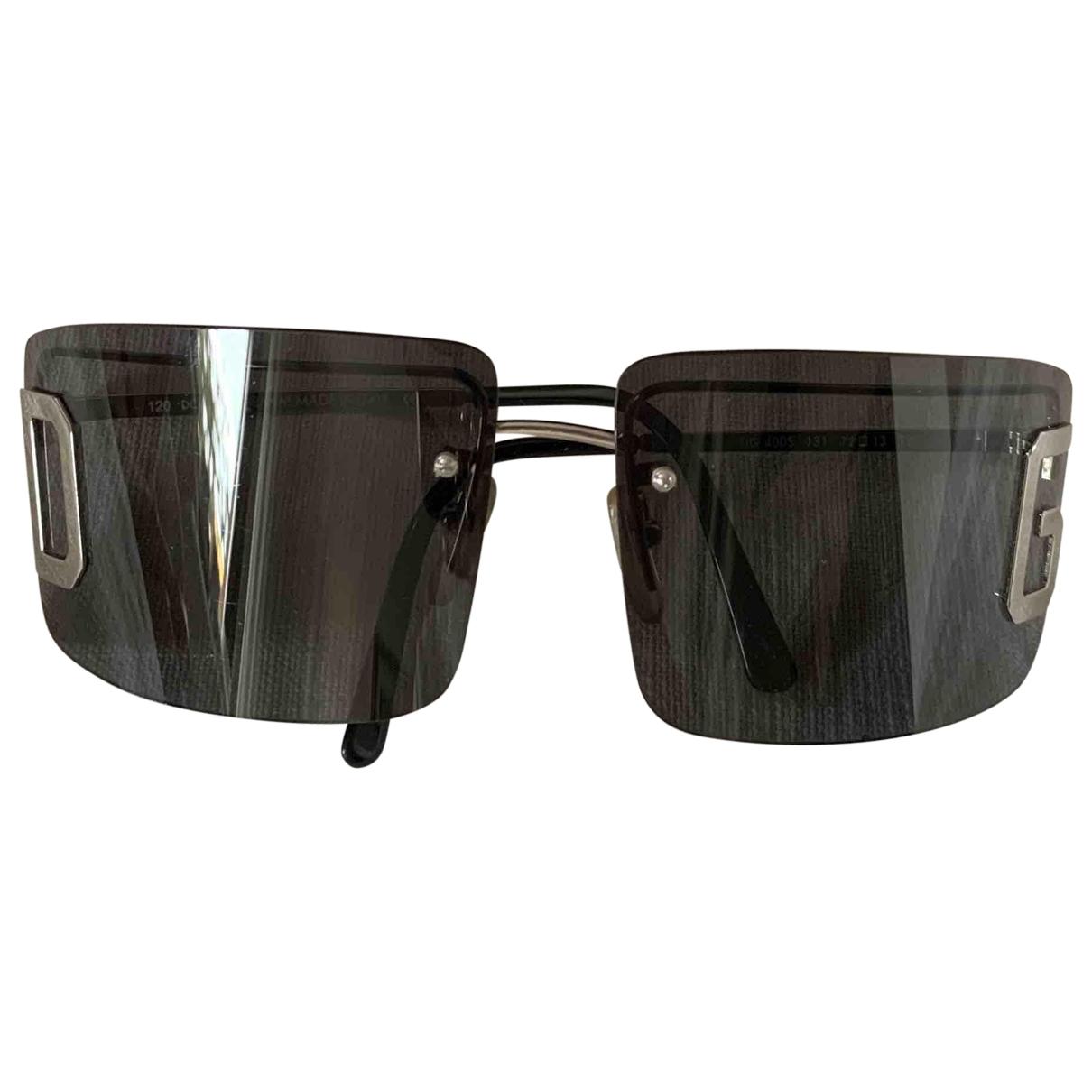 Dolce & Gabbana \N Sonnenbrillen in  Schwarz Metall